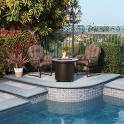 OW Lee Cambria 3 Piece Fire Pit Set  - OW-CAMBRIA-SET1