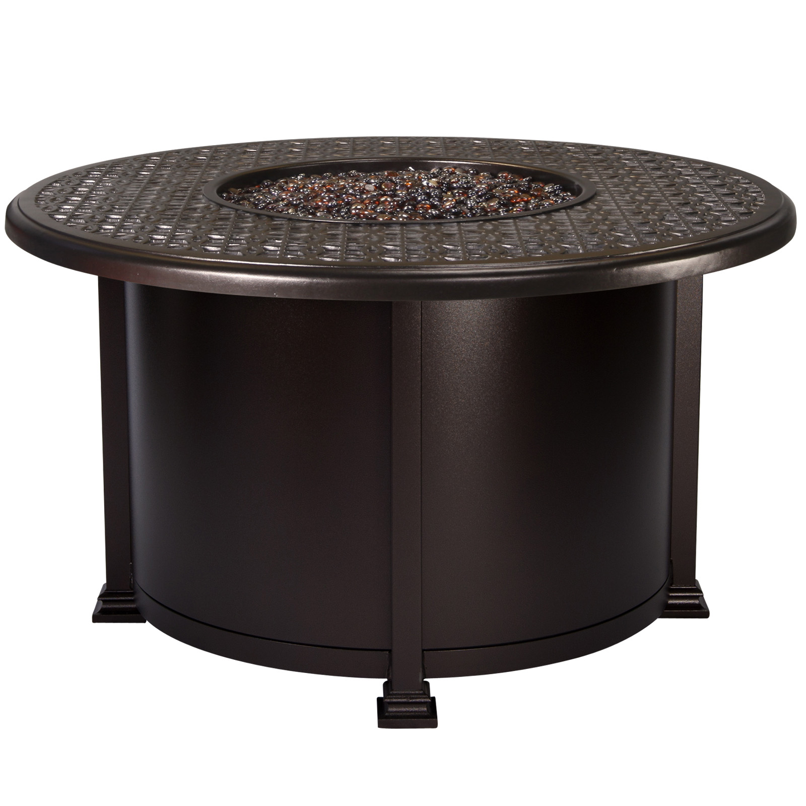 "OW Lee Richmond 42"" Round Chat Fire Table"