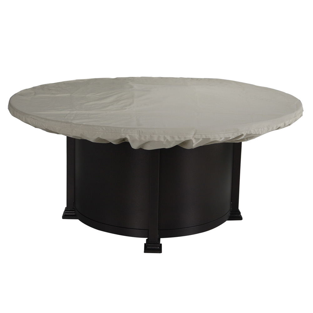 Ow Lee Hacienda 54 Quot Round Counter Height Fire Pit Table