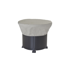 "OW Lee 30"" round Hearth Top Fabric Cover - 5480-30RD"