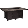 OW Lee Classico 36 inch by 58 inch Chat Height Fire Pit Table - 51-36C