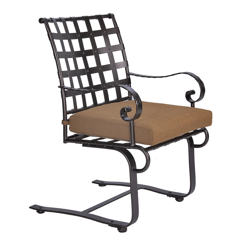 OW Lee Classico-W Spring Base Dining Arm Chair - 953-SBW