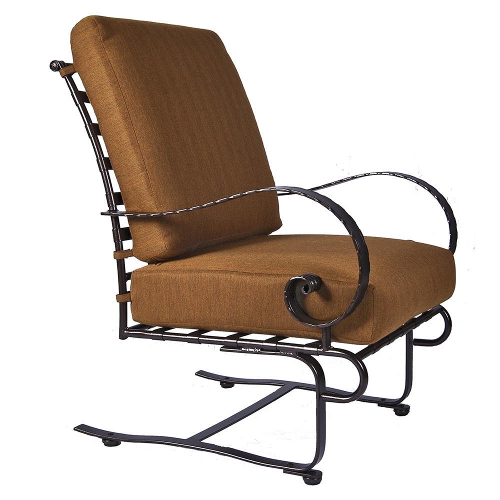 OW Lee Classico-W Spring Base Lounge Chair - 956-SBW