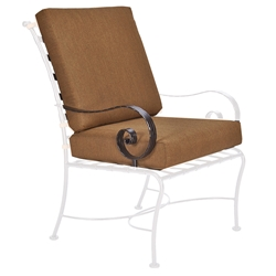 OW Lee Classico-W Club Dining Arm Chair Cushions - OW42-AW