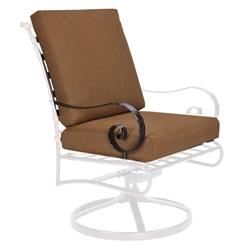 OW Lee Classico-W Club Dining Swivel Rocker Arm Chair Cushions - OW42-SRW