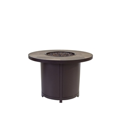 "OW Lee Elba 36"" Round Chat Height Fire Table - 5122-36RDC"