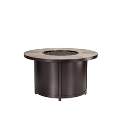 "OW Lee Elba 42"" Round Chat Height Fire Table - 5122-42RDC"