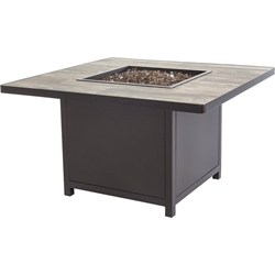 "OW Lee Elba 42"" Square Chat Height Fire Table - 5122-42SQC"