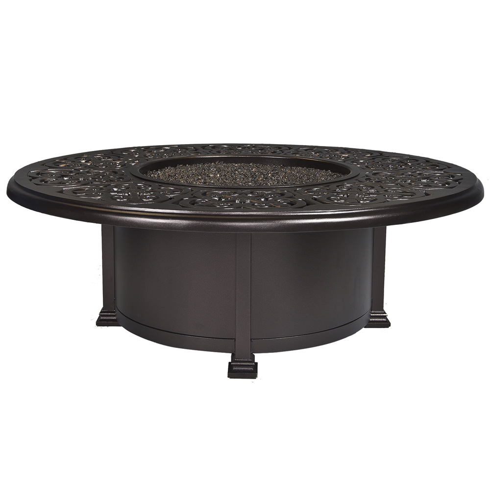 Ow Lee 54 Quot Round Occasional Height Hacienda Fire Pit 51 110h