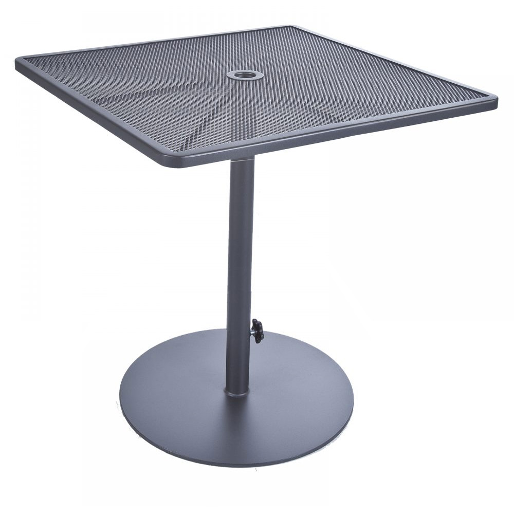 "OW Lee Lennox 34"" Square Counter Table with Pedestal Base - 39-CT34SQ"