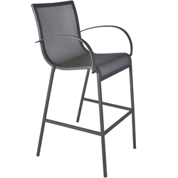 OW Lee Lennox Bar Stool with Arms - 39183-BSA