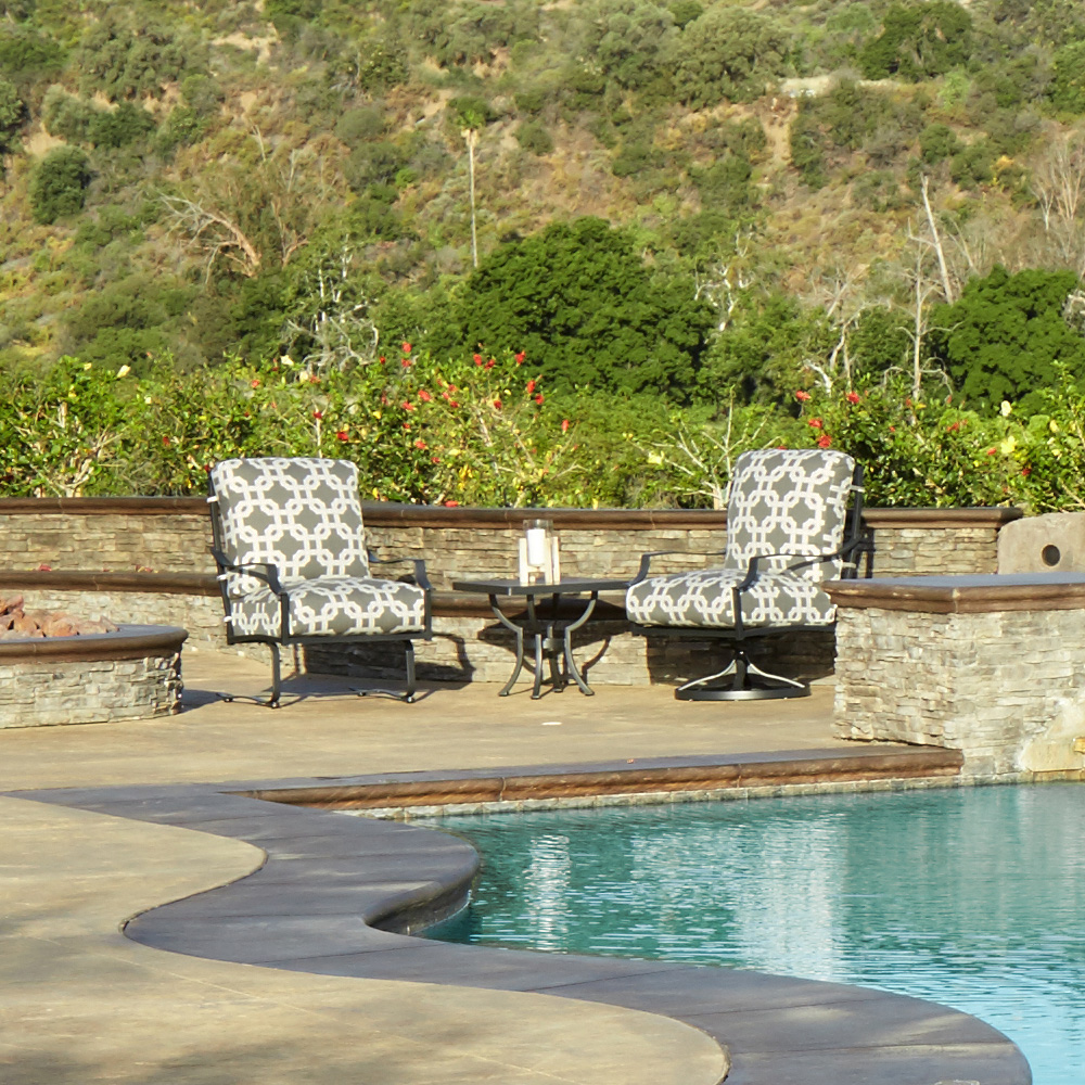 OW Lee Madison Lounge Chair and Table Set - OW-MADISON-SET8