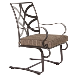 OW Lee Marquette Spring Base Dining Arm Chair - 2053-SB
