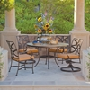 OW Lee Marquette 5 Piece Patio Dining Set
