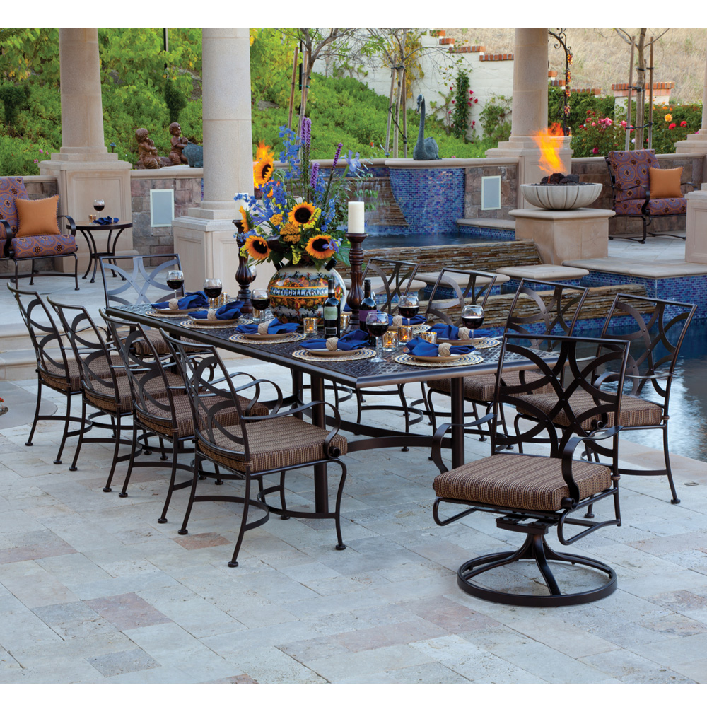 OW Lee Marquette 11 Piece Patio Dining Set