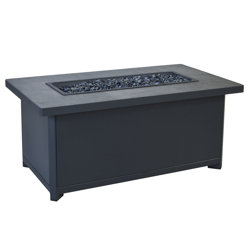 OW Lee Metrop 26 Inch X 45 Inch Occasional Height Fire Pit Table   51  ...