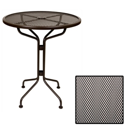 OW Lee 30 inch round Micro Mesh Counter Table - 30-MMCT
