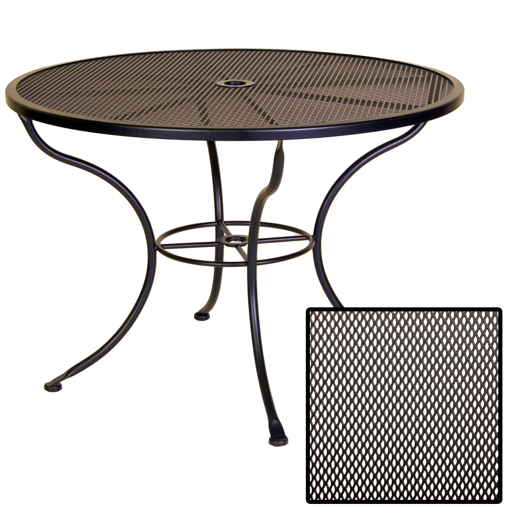 OW Lee Micro Mesh 42 inch round Dining Table - 42-MMU
