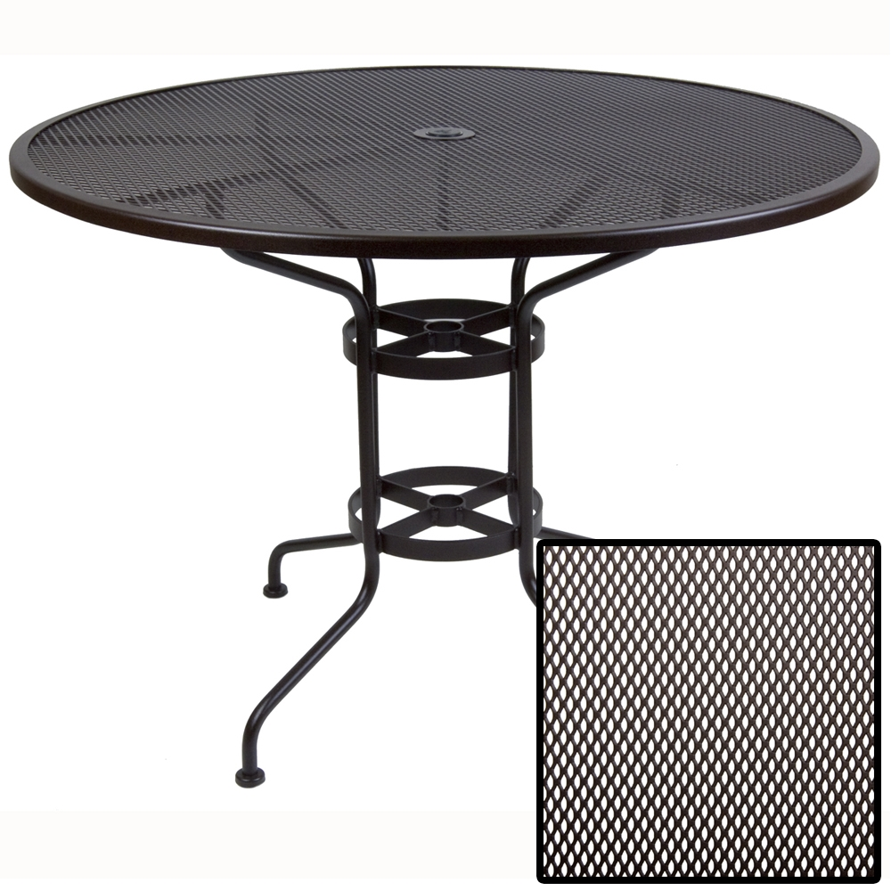 OW Lee Micro Mesh 48 inch round Counter Table - 48-MMCTU