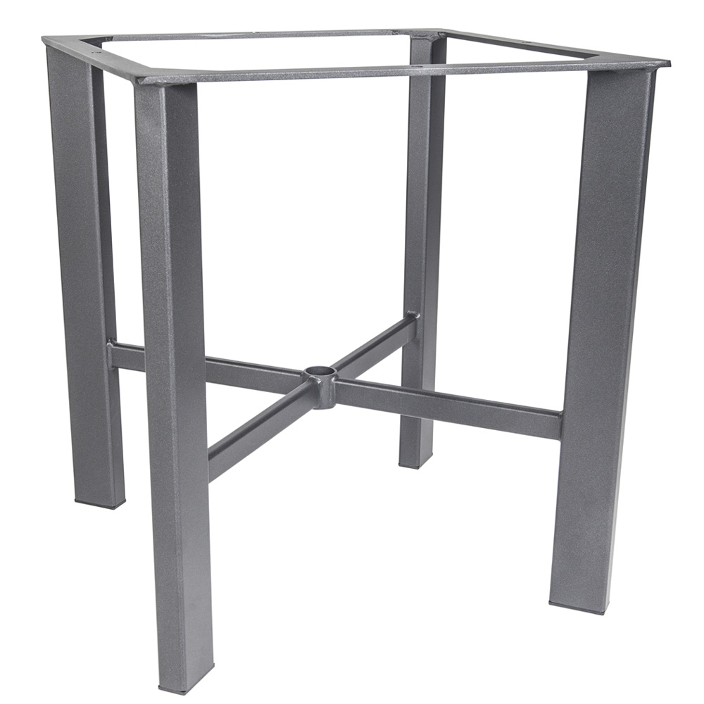 Modern Aluminum Dining Table Base