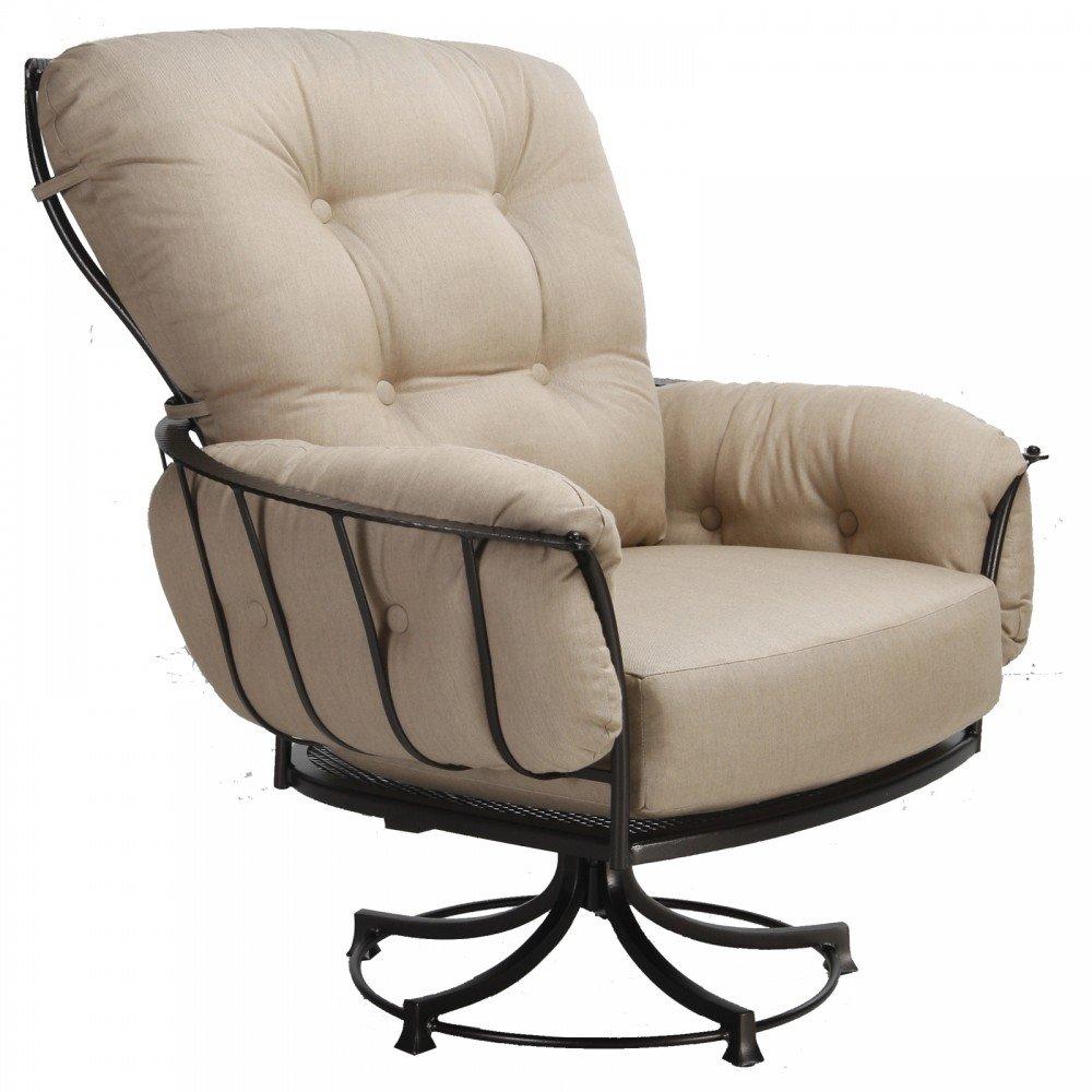 swivel rocker chair parts canada ow lee club rattan coil base cushions patio chairs sale