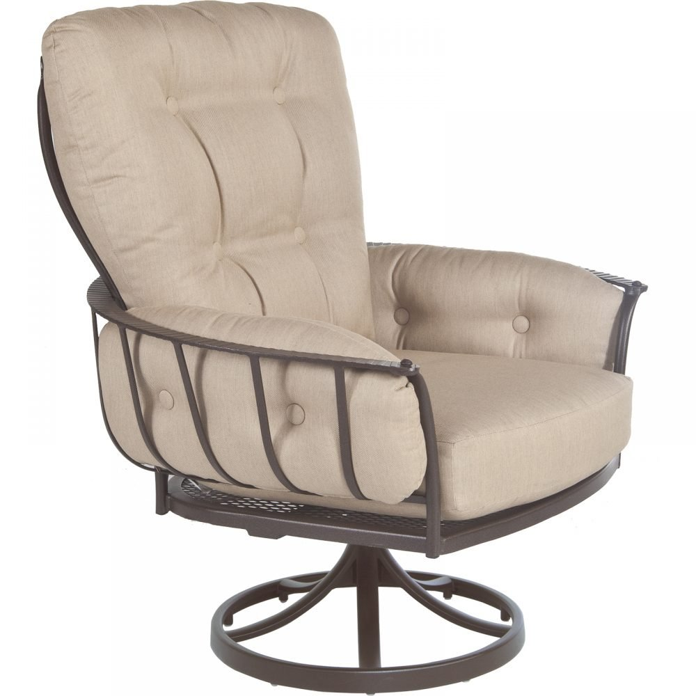 ow lee monterra mini swivel rocker lounge arm chair 424msr
