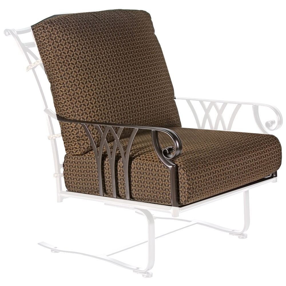 Ow Lee Montrachet Spring Base Lounge Chair Cushions Owc