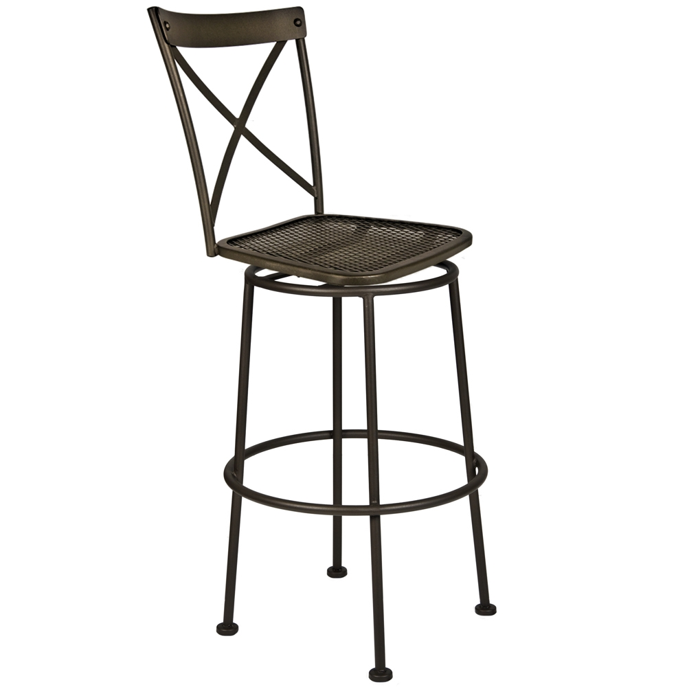 OW Lee Villa Swivel Bar Stool - 516-SBS