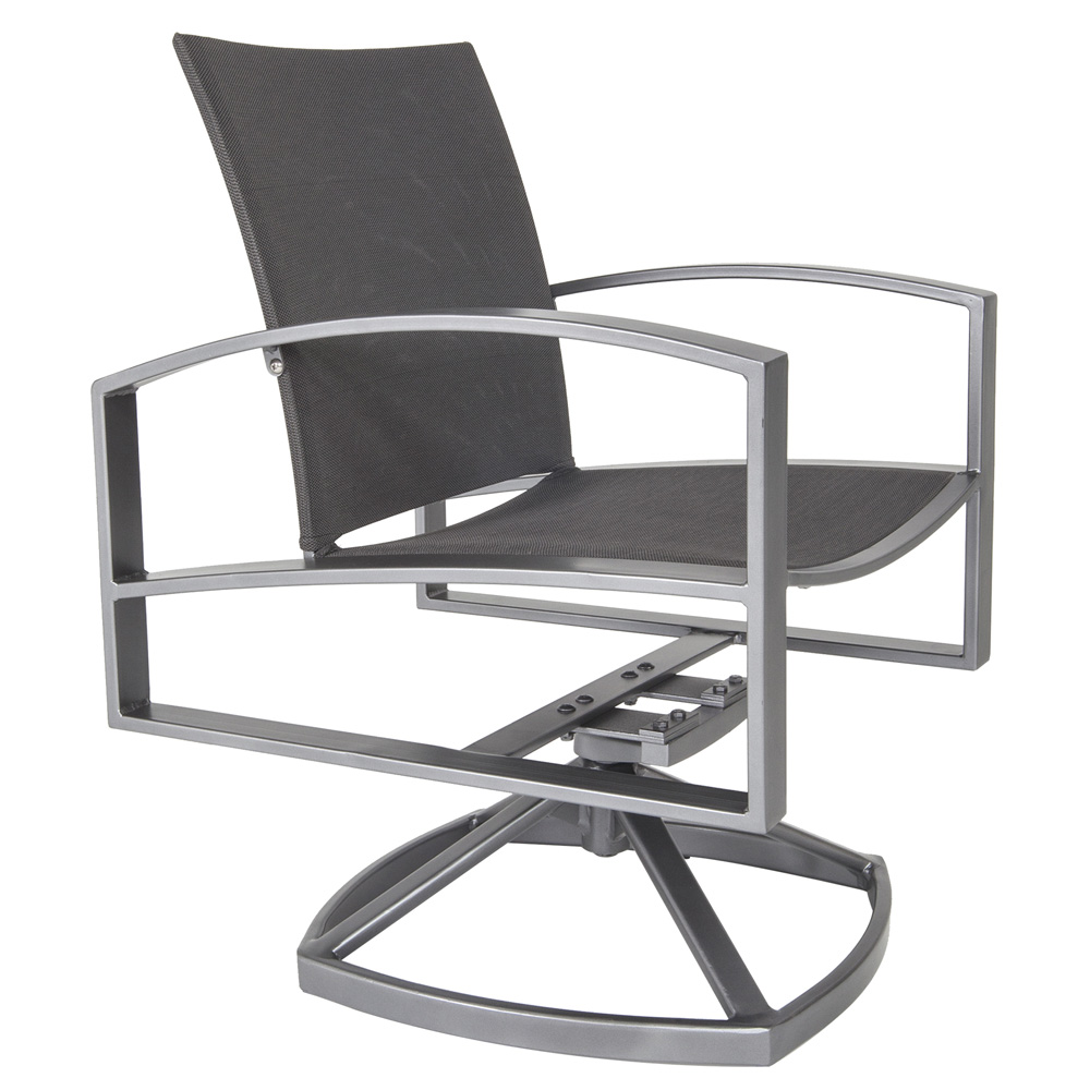 OW Lee Pacifica Swivel Rocker Dining Arm Chair - 49163-SR