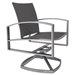 Pacifica Modern Patio Dining Set with Flex Slings - OW-PACIFICA-SET3