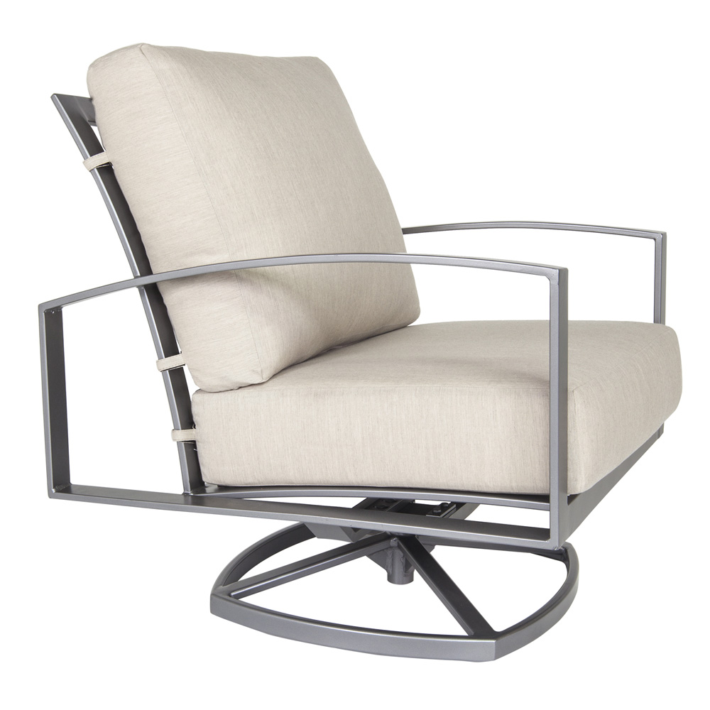 OW Lee Pacifica Swivel Rocker Lounge Chair - 49165-SR