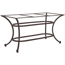 OW Lee Palisades Rectangle Dining Table Base - 46-DT07