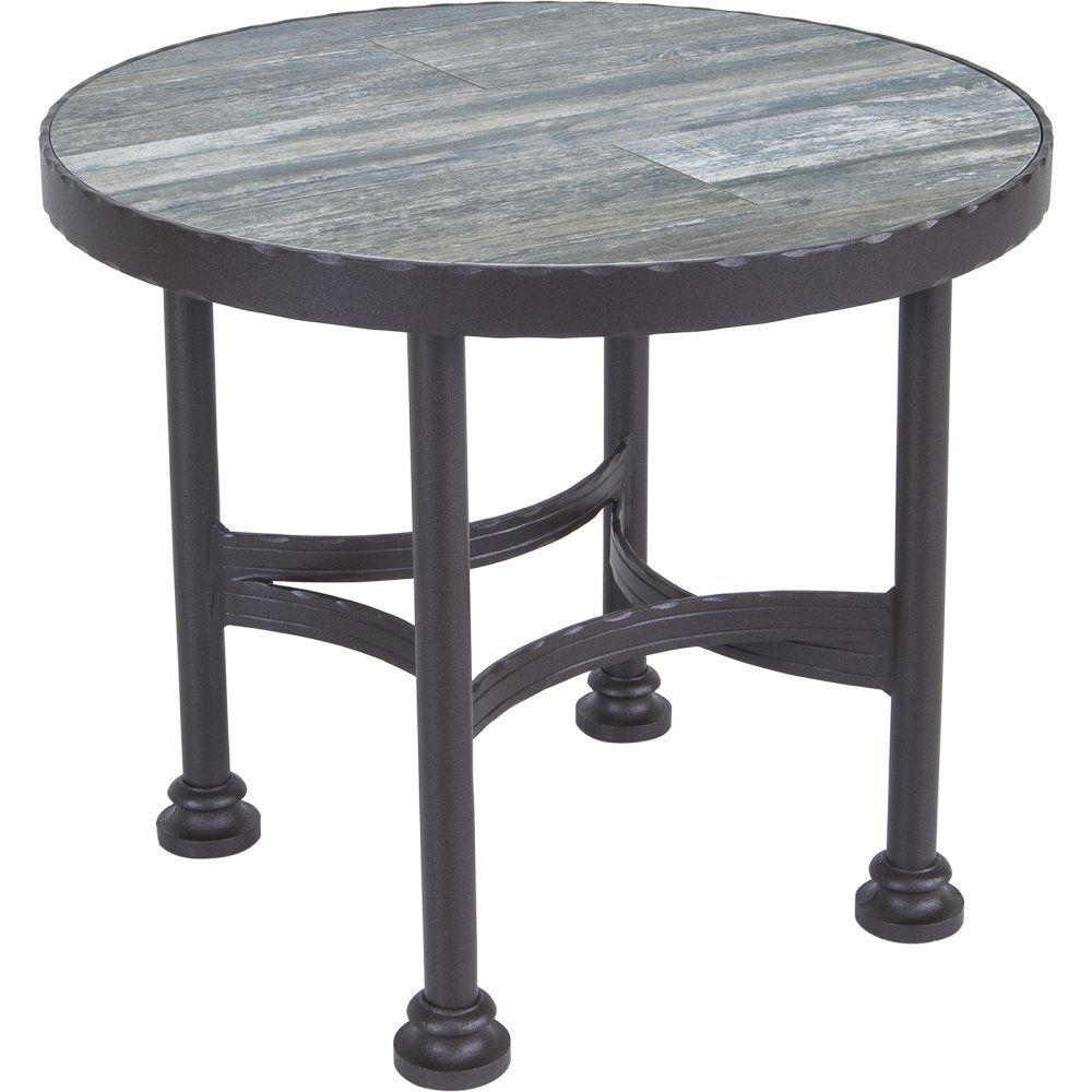 OW Lee OW Lee Pendleton Classico-W Side Table Base - PD9-ST01-W-24F