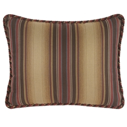 OW Lee 15 inch by 19 inch Pillow with Decorative Trim - TP-1519W