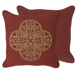 OW Lee Venezia Emblem Pillow - TP-1919VZ