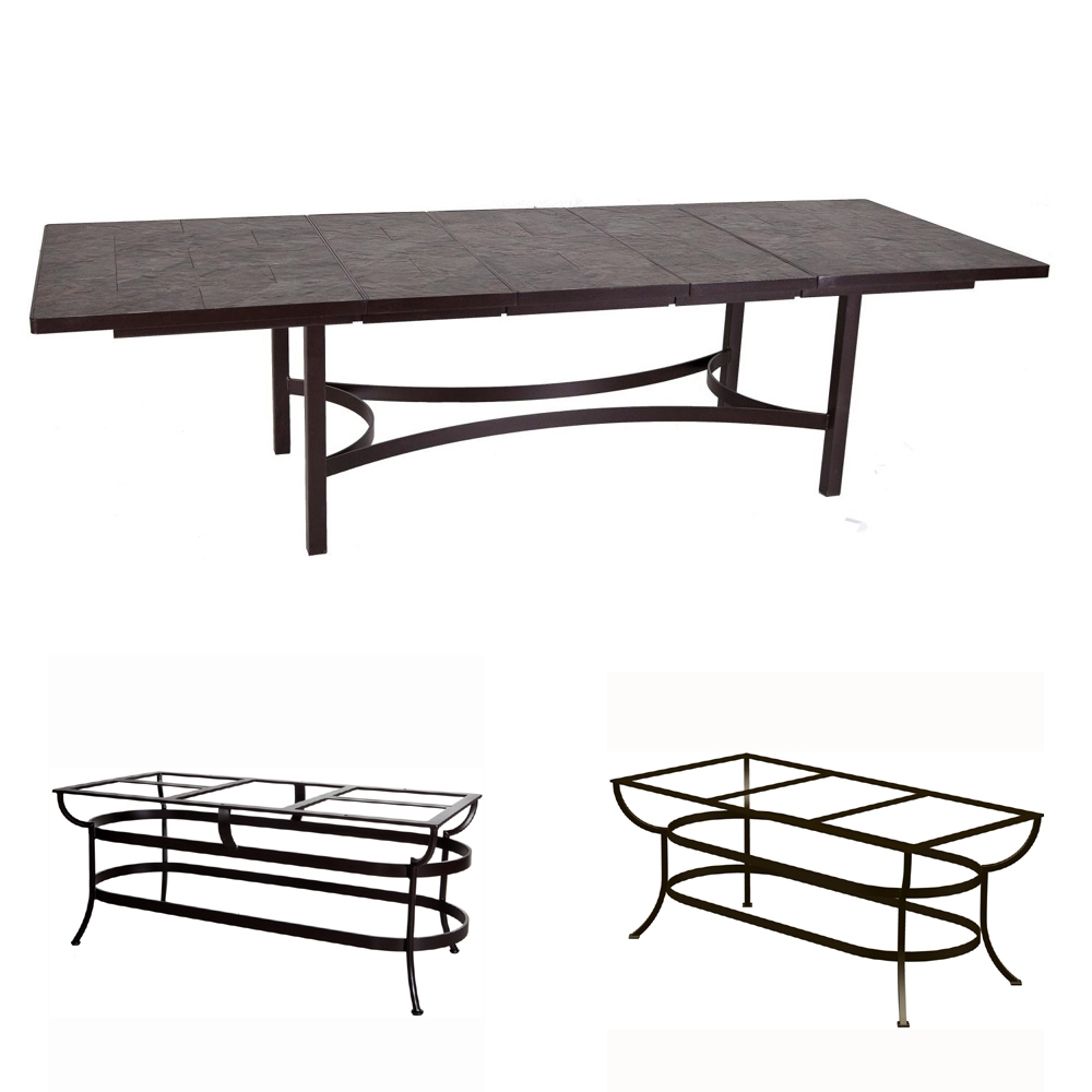 OW Lee Expanding Porcelain Tile Top Dining Table - P42116-U-DT10