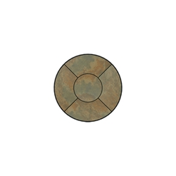 OW Lee Fresco Series 24 inch round Porcelain Tile Top - P-24
