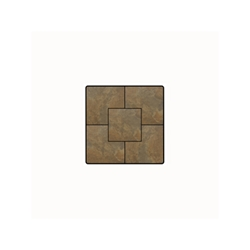 OW Lee Fresco Series 24 inch square Porcelain Tile Top - P-24SQ