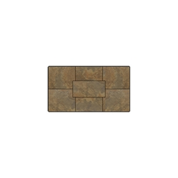 OW Lee Fresco Series 28 inch by 50 inch Porcelain Tile Top - P-2850RT