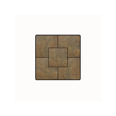 OW Lee Fresco Series 36 inch square Porcelain Tile Top - P-36SQ