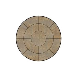 OW Lee Fresco Series 48 inch round Porcelain Tile Top - P-48