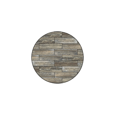 OW Lee Reclaimed Series 30 inch round Porcelain Tile Top - W-30
