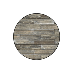 OW Lee Reclaimed Series 48 inch round Porcelain Tile Top - W-48