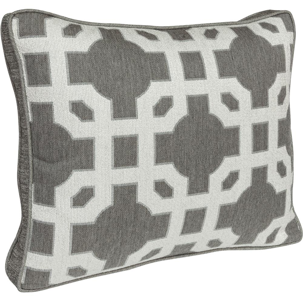 OW Lee Quick Ship Boxed Accent Pillow With Decorative Trim - QS-BP-1519W
