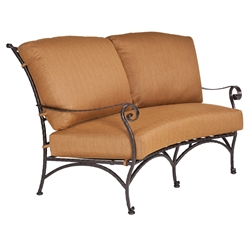 OW Lee San Cristobal Crescent Loveseat - 692-2S