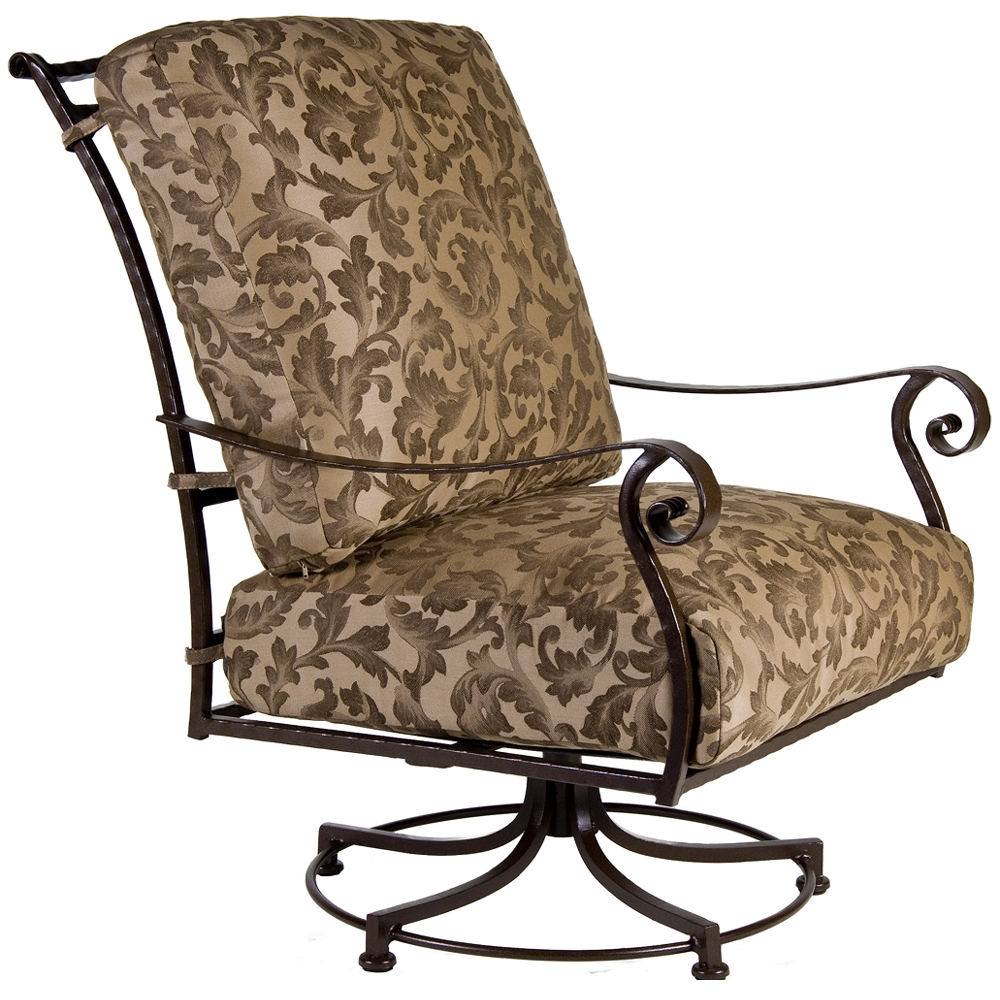 OW Lee San Cristobal Swivel Rocker Club Chair - 695-SR
