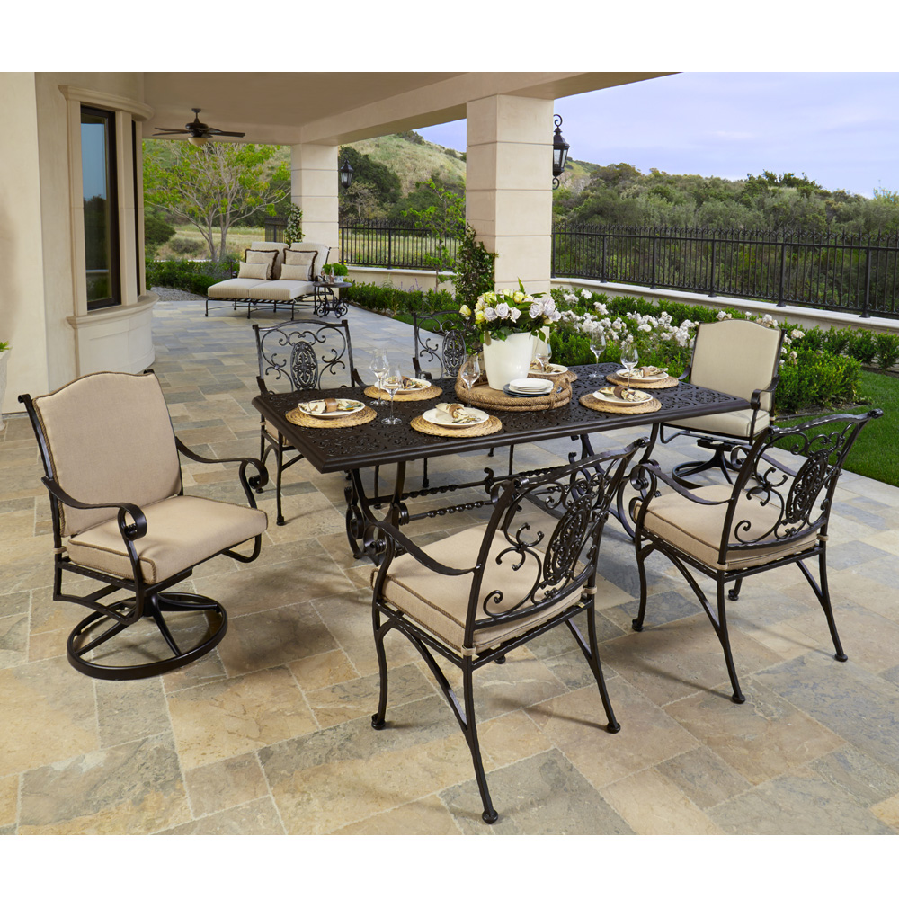 OW Lee San Cristobal Outdoor Dining Set   OW SANCRISTOBAL SET11