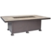 "OW Lee 36"" x 58"" Santorini Occasional Height Fire Table - 5110-3658O"