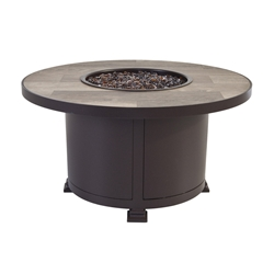 "OW Lee Santorini 36"" Round Occasional Height Fire Pit - 5110-36RDO"