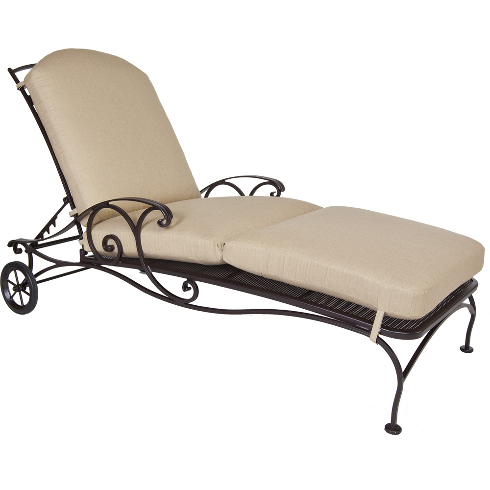 Ow Lee Siena Adjustable Chaise Lounge Replacement Cushions